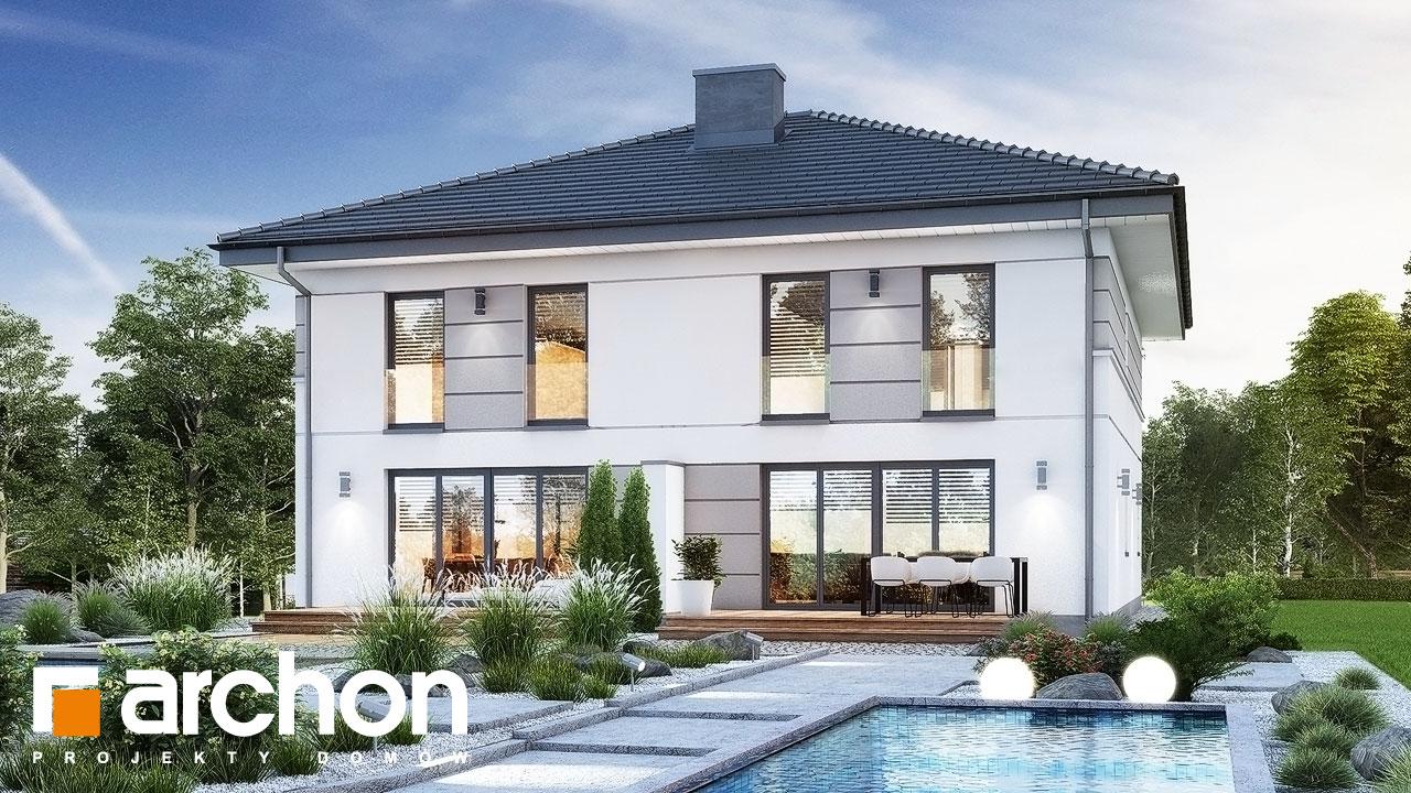Проект будинку ARCHON+ Вілла Амелія (П2) вер.2 стилізація 4