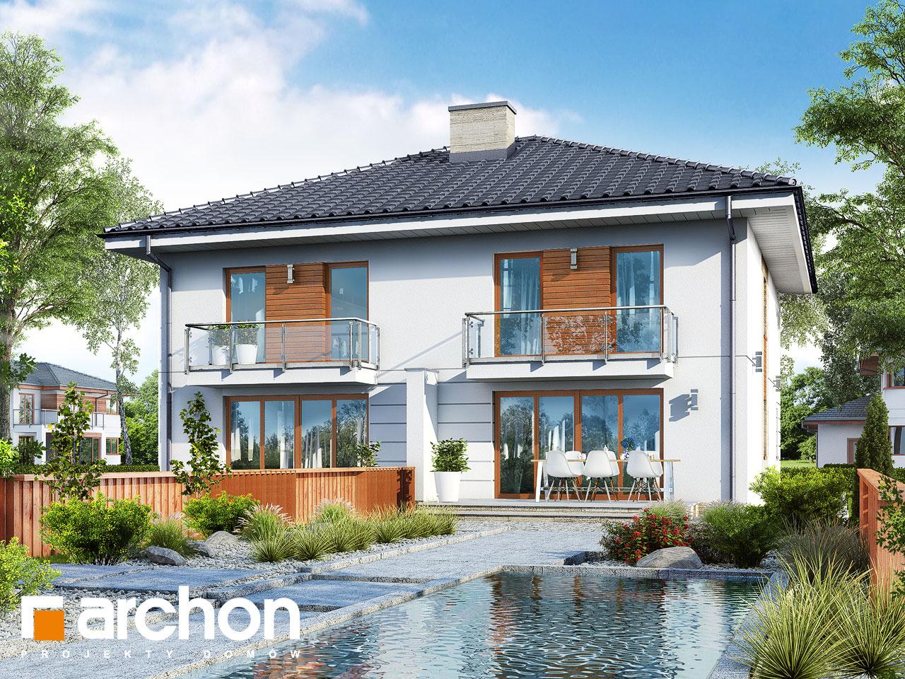Проект будинку ARCHON+ Вілла Амелія (П2) вер.2 Вид 2