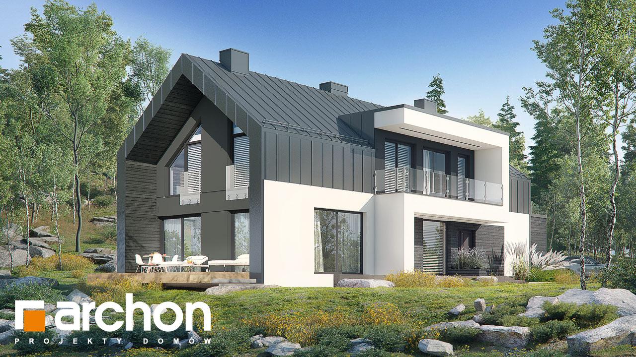 Проект будинку ARCHON+ Будинок в женьшені (Г2П) Вид 2