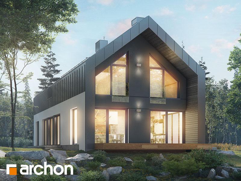 Проект будинку ARCHON+ Будинок в женьшені (Г2П) Вид 1