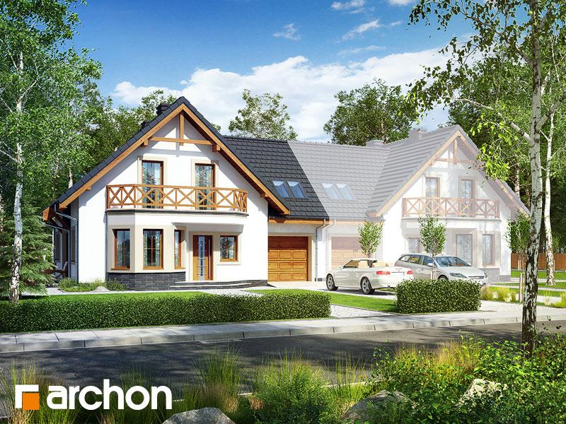 Проект будинку ARCHON+ Будинок під фісташковим деревом 2(Б) вер.2 Вид 1