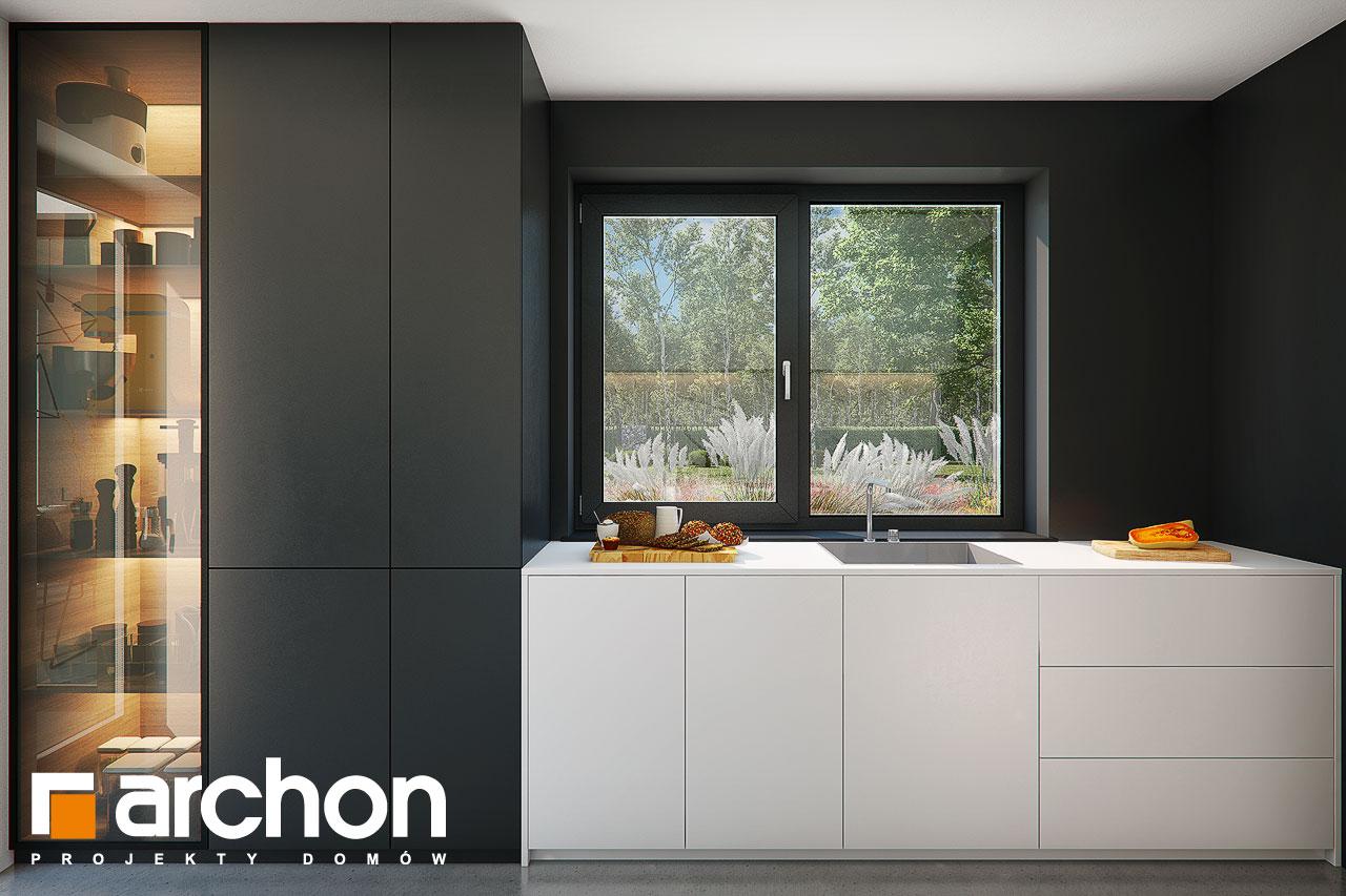 Проект будинку ARCHON+ Будинок в ізопірумі 11 візуалізація кухні 1 від 1