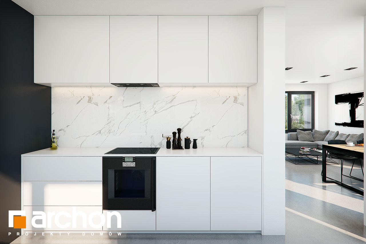 Проект будинку ARCHON+ Будинок в ізопірумі 11 візуалізація кухні 1 від 2