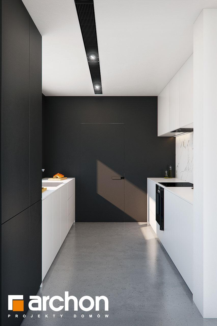 Проект будинку ARCHON+ Будинок в ізопірумі 11 візуалізація кухні 1 від 3