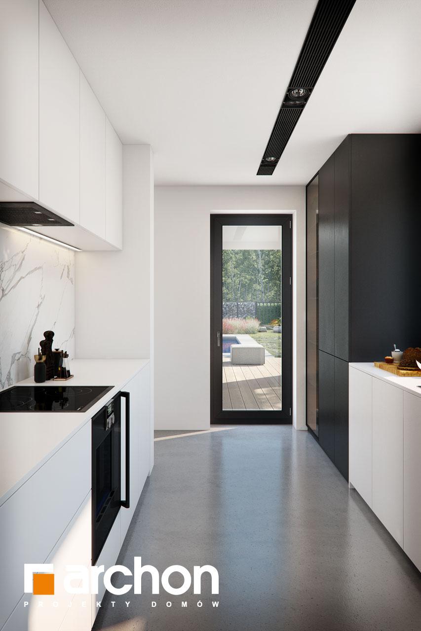 Проект будинку ARCHON+ Будинок в ізопірумі 11 візуалізація кухні 1 від 4