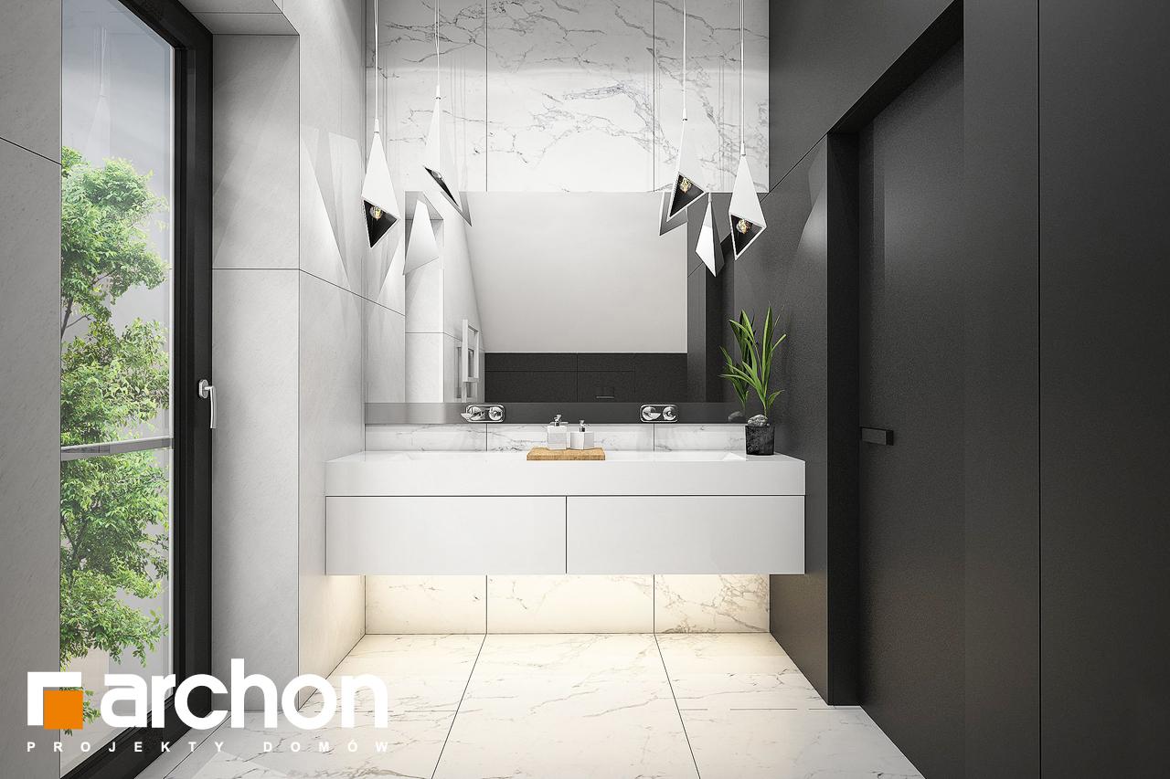Проект будинку ARCHON+ Будинок в ізопірумі 11 візуалізація ванни (візуалізація 3 від 1)