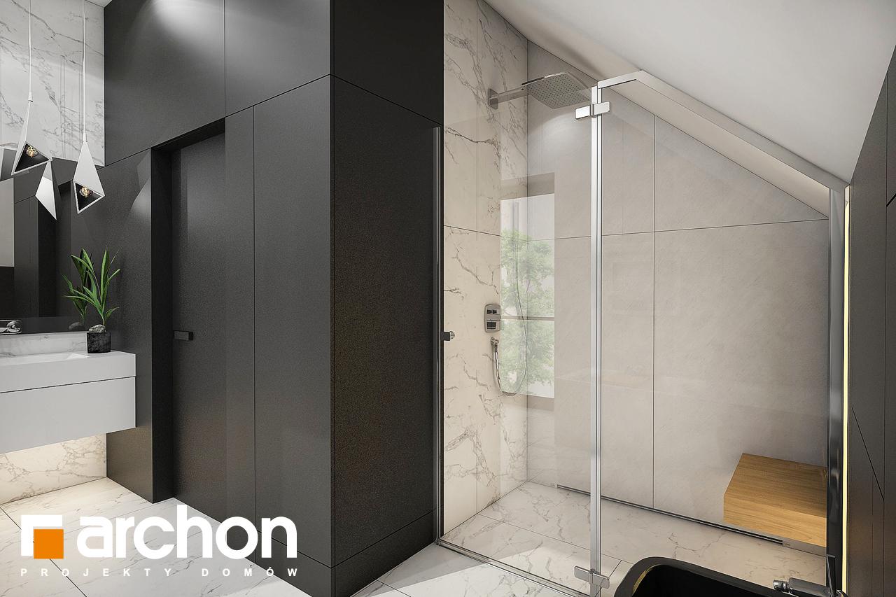 Проект будинку ARCHON+ Будинок в ізопірумі 11 візуалізація ванни (візуалізація 3 від 2)