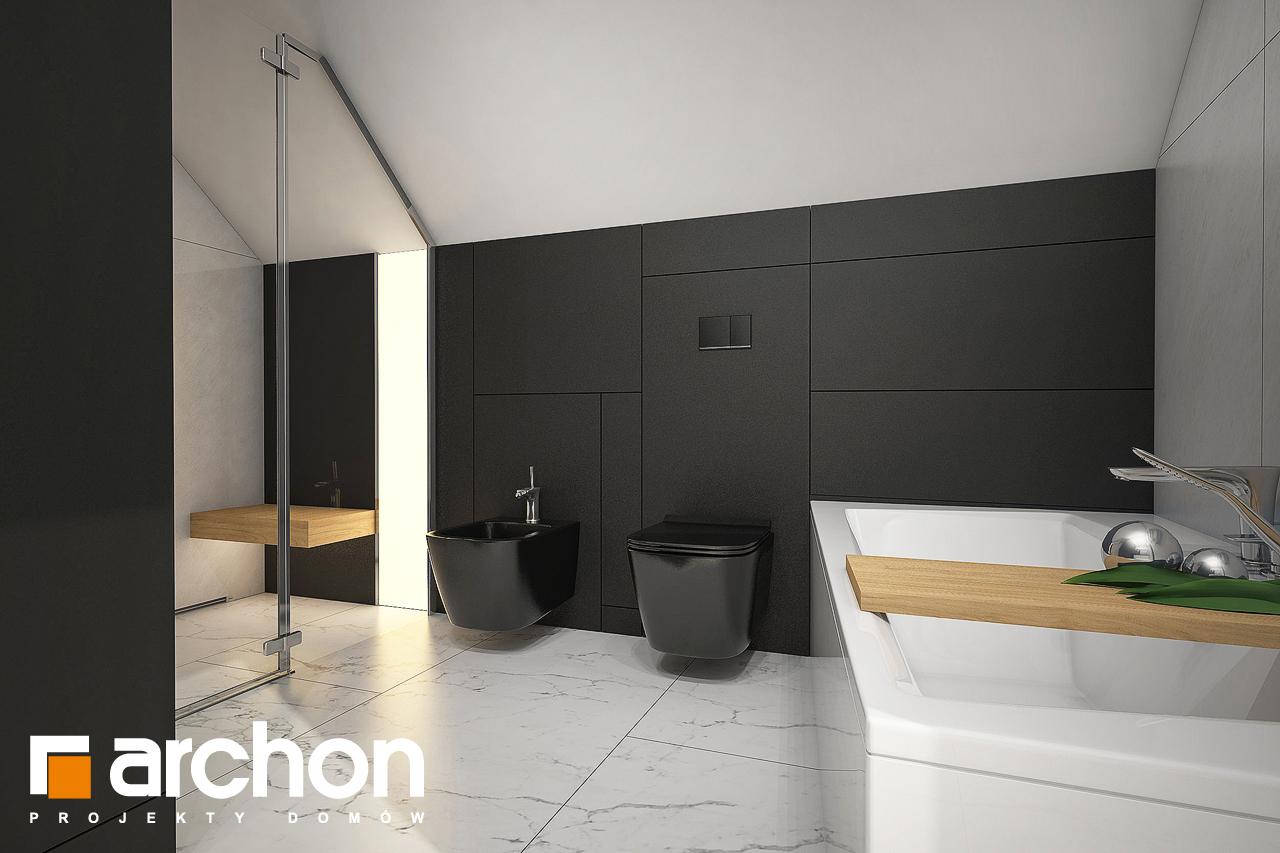 Проект будинку ARCHON+ Будинок в ізопірумі 11 візуалізація ванни (візуалізація 3 від 3)