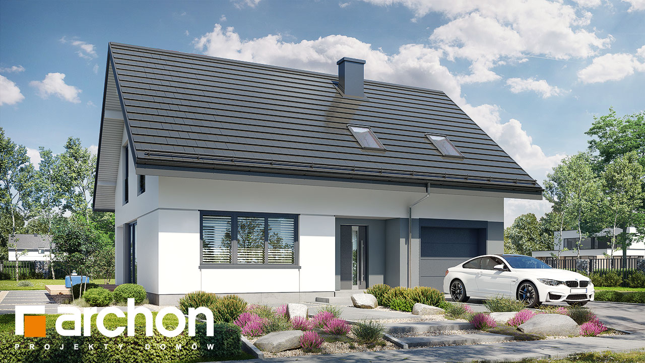 Проект будинку ARCHON+ Будинок в ізопірумі 11 стилізація 5