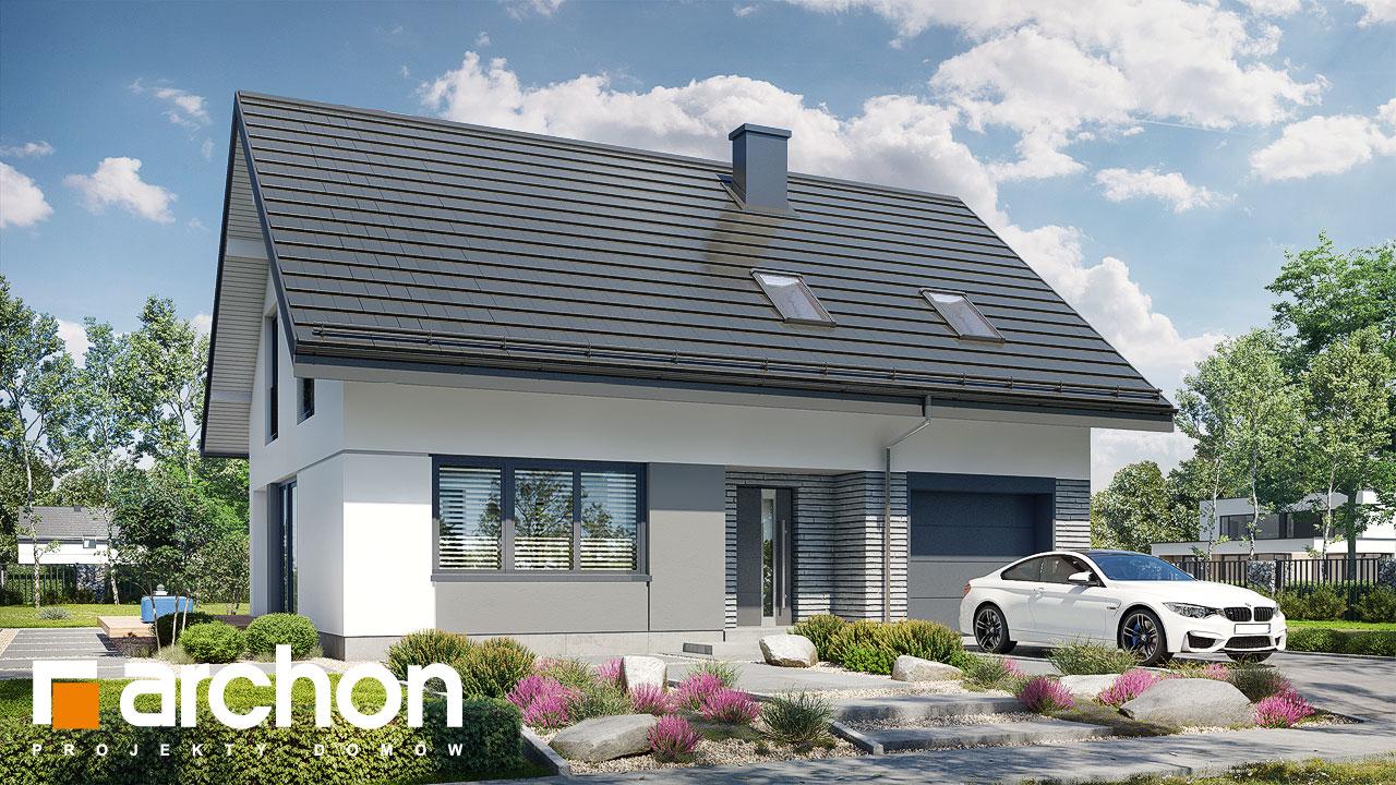 Проект будинку ARCHON+ Будинок в ізопірумі 11 стилізація 3