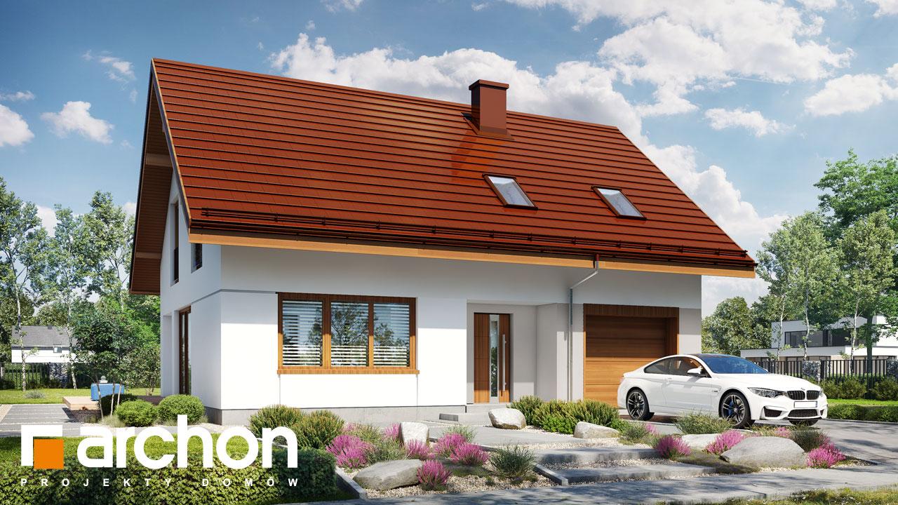 Проект будинку ARCHON+ Будинок в ізопірумі 11 стилізація 7
