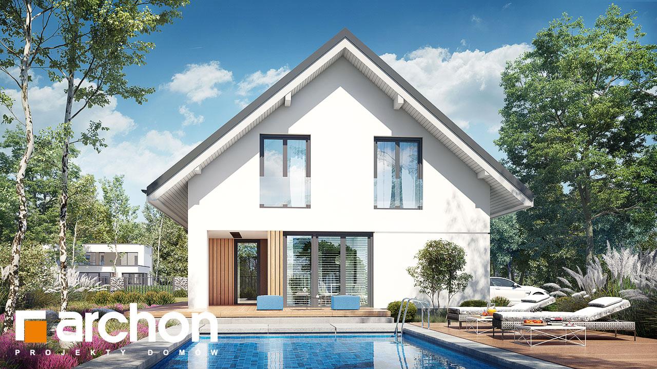Проект будинку ARCHON+ Будинок в ізопірумі 11 Вид 2