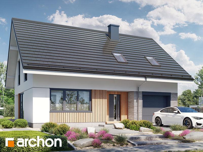 Проект будинку ARCHON+ Будинок в ізопірумі 11 Вид 1