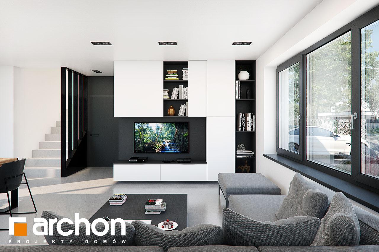 Проект будинку ARCHON+ Будинок в ізопірумі 11 денна зона (візуалізація 1 від 1)