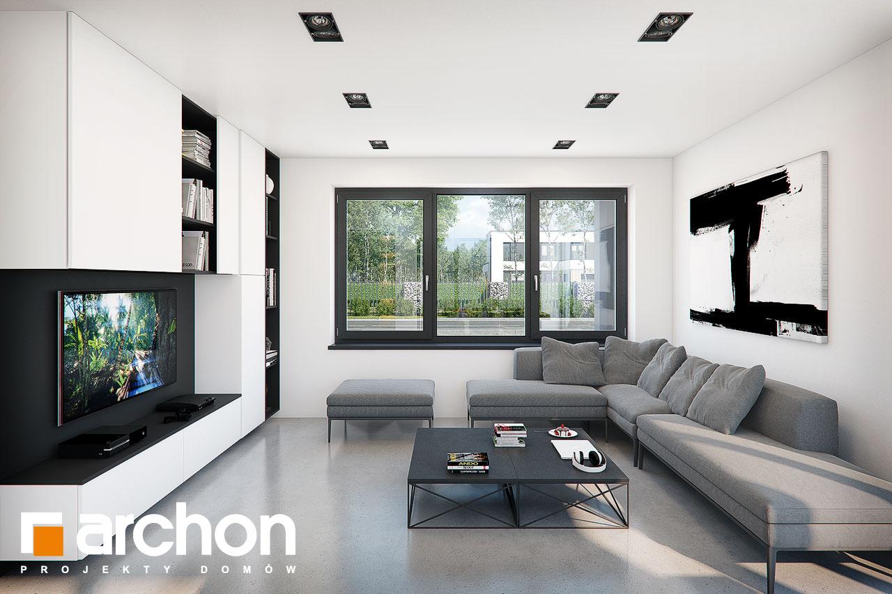 Проект будинку ARCHON+ Будинок в ізопірумі 11 денна зона (візуалізація 1 від 3)