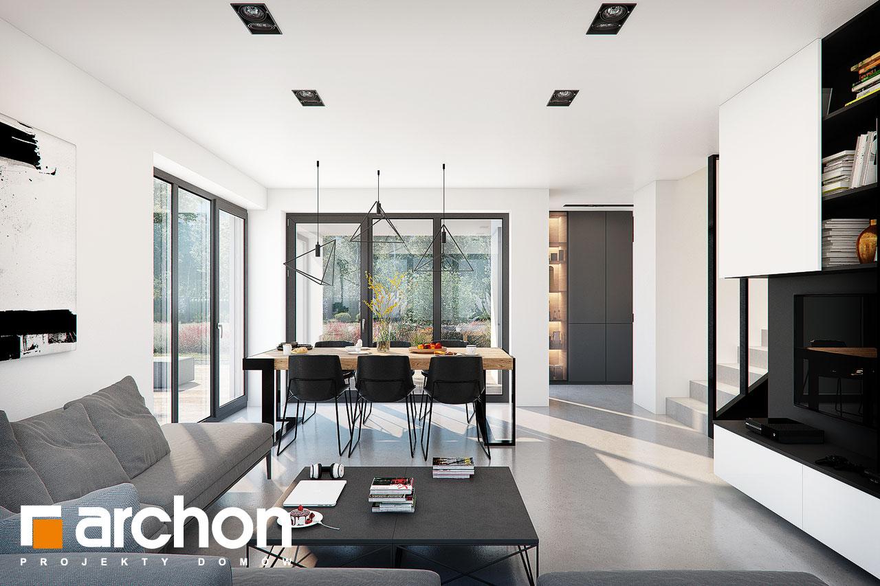 Проект будинку ARCHON+ Будинок в ізопірумі 11 денна зона (візуалізація 1 від 4)