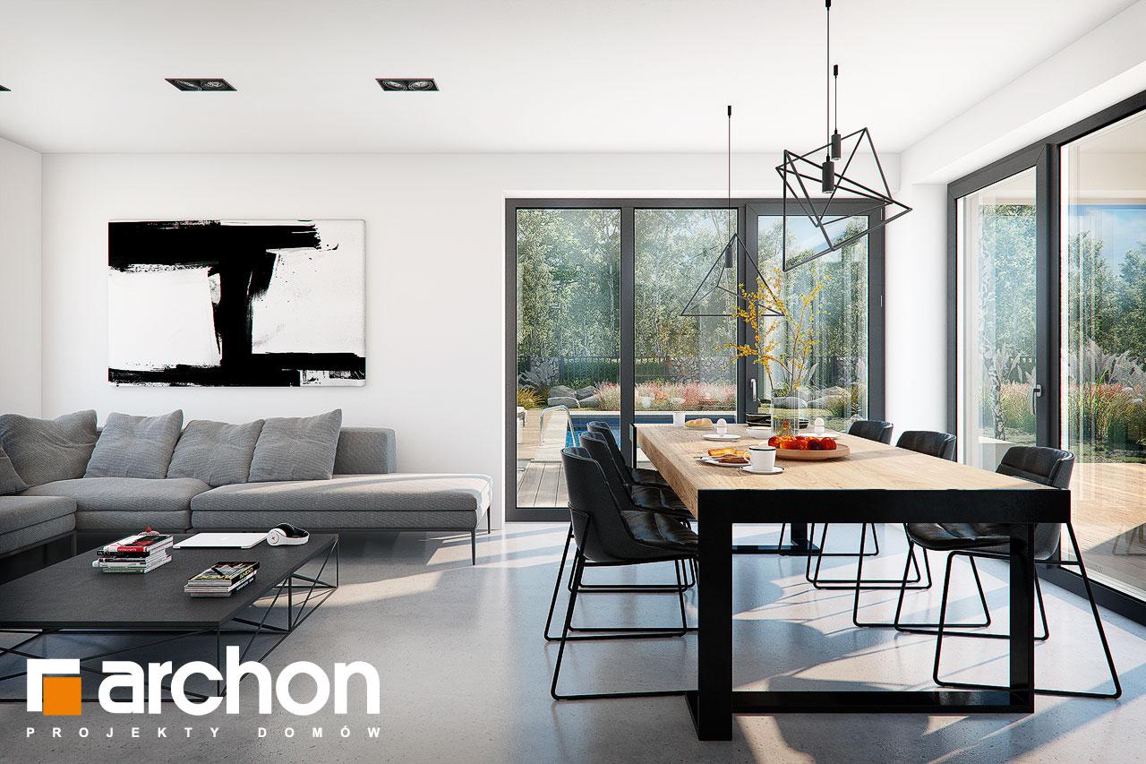 Проект будинку ARCHON+ Будинок в ізопірумі 11 денна зона (візуалізація 1 від 5)