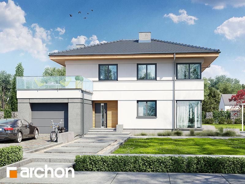 Проект будинку ARCHON+ Вілла Сюзанна Вид 1