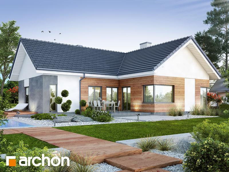 Проект будинку ARCHON+ Будинок в галах (Г) Вид 1