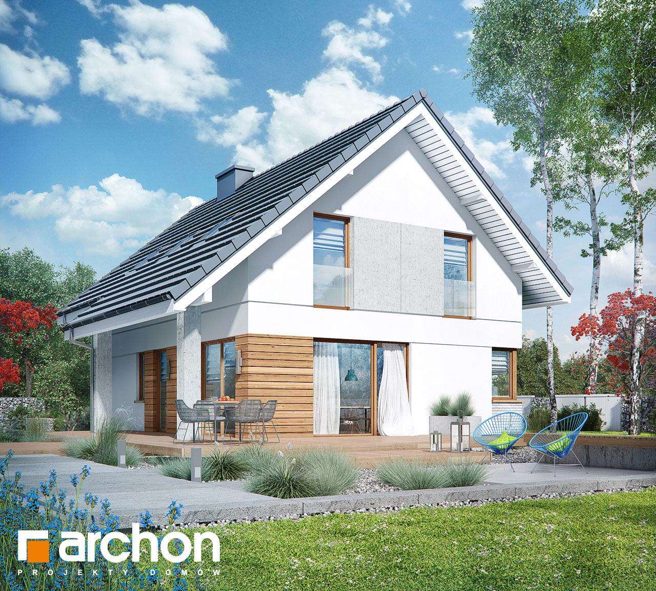Проект будинку ARCHON+ Будинок в журавках 7 додаткова візуалізація