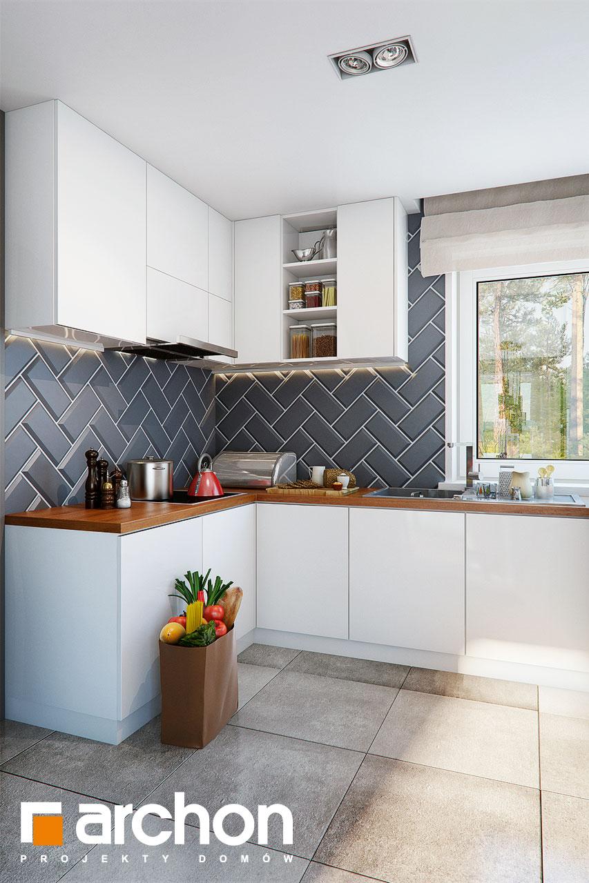 Проект будинку ARCHON+ Будинок в журавках 7 візуалізація кухні 1 від 1
