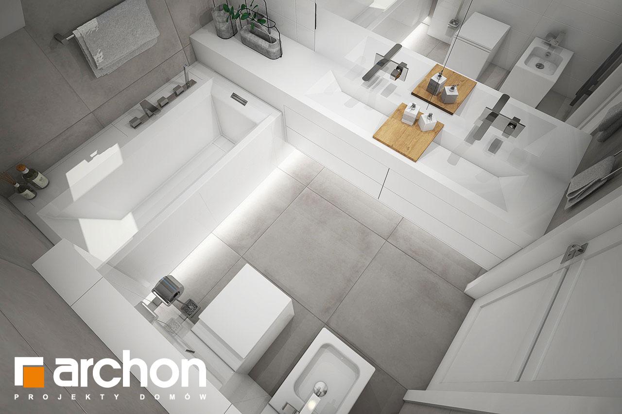 Проект дома ARCHON+ Дом в журавках 7 визуализация ванной (визуализация 3 вид 4)