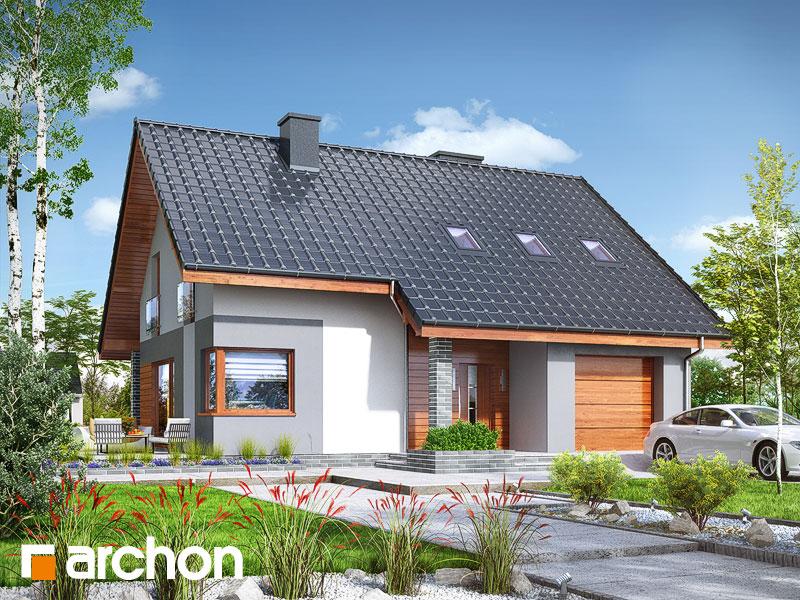 Проект будинку ARCHON+ Будинок в журавках 7 Вид 1