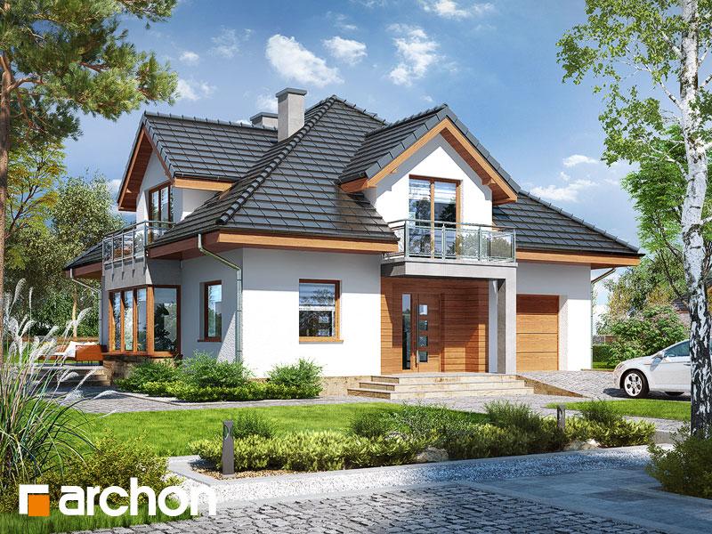 Проект будинку ARCHON+ Будинок в тим'яні 3 (Н) Вид 1