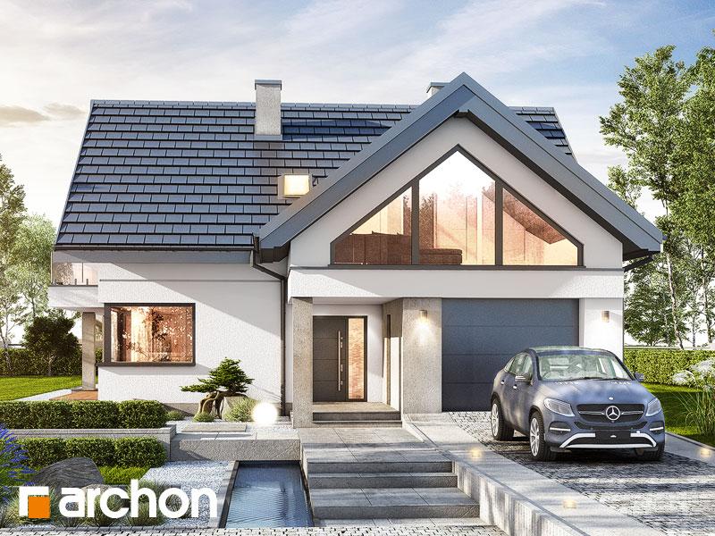 Проект будинку ARCHON+ Будинок у телімах (Г) Вид 1