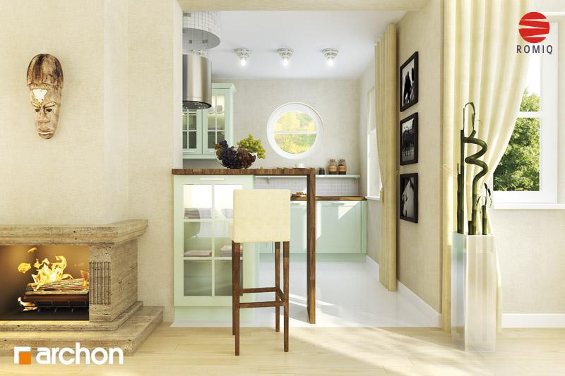 Проект будинку ARCHON+ Будинок в мандаринках (Т)  аранжування кухні 1 від 1