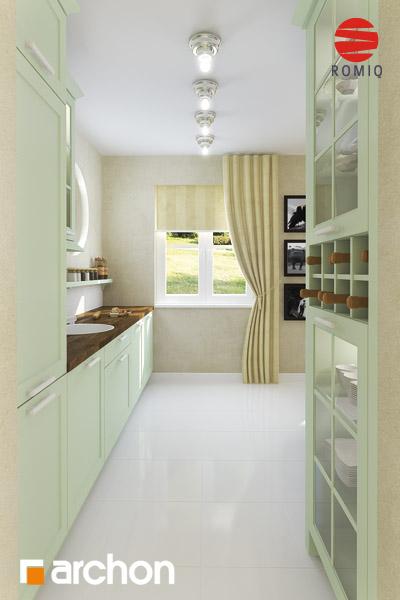 Проект будинку ARCHON+ Будинок в мандаринках (Т)  аранжування кухні 1 від 4