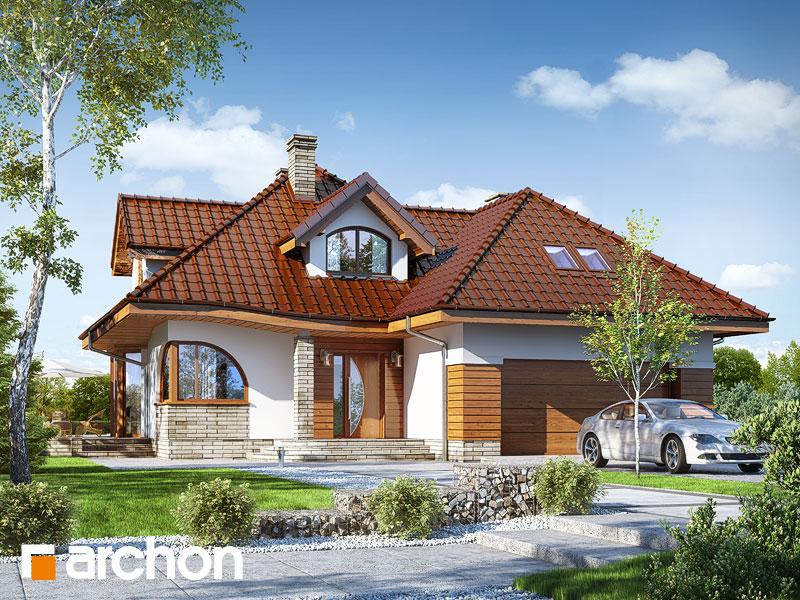 Проект будинку ARCHON+ Будинок в зефірантесі 2 (Г2) Вид 1