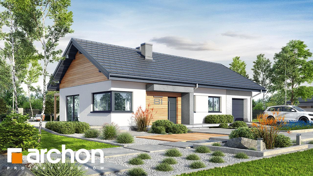 Проект будинку ARCHON+ Будинок в мекінтошах 9 (Г) Вид 2