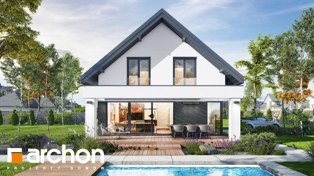 Проект будинку ARCHON+ Будинок в шишковиках Вид 2