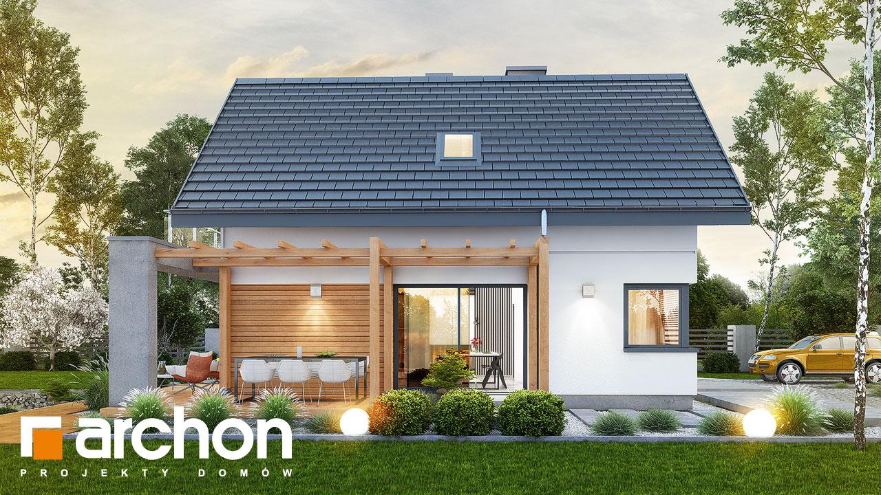 Проект будинку ARCHON+ Будинок в фаворитках додаткова візуалізація
