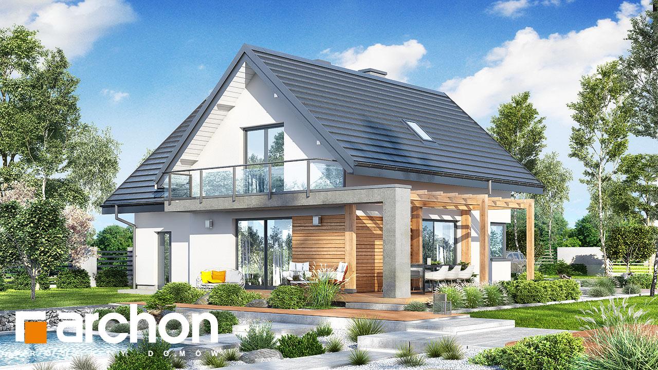 Проект дома ARCHON+ Дом в фаворитках додаткова візуалізація