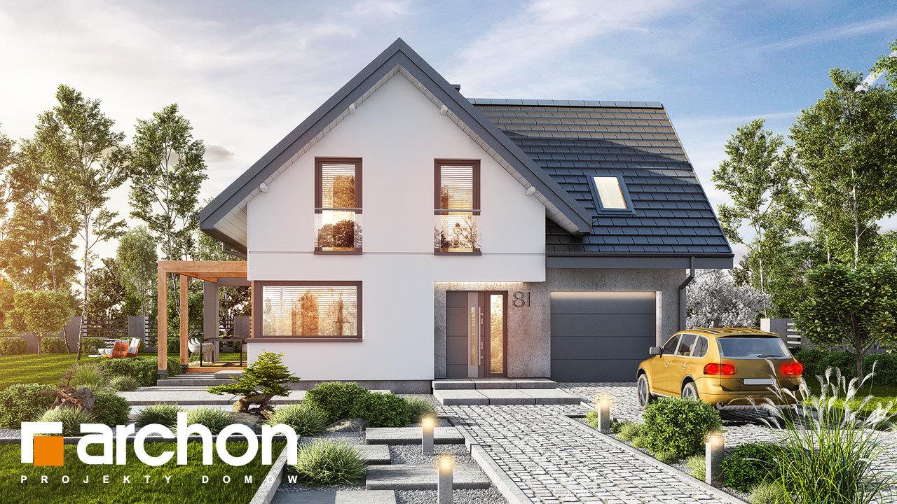 Проект будинку ARCHON+ Будинок в фаворитках