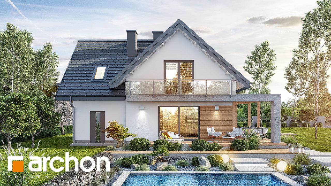 Проект дома ARCHON+ Дом в фаворитках