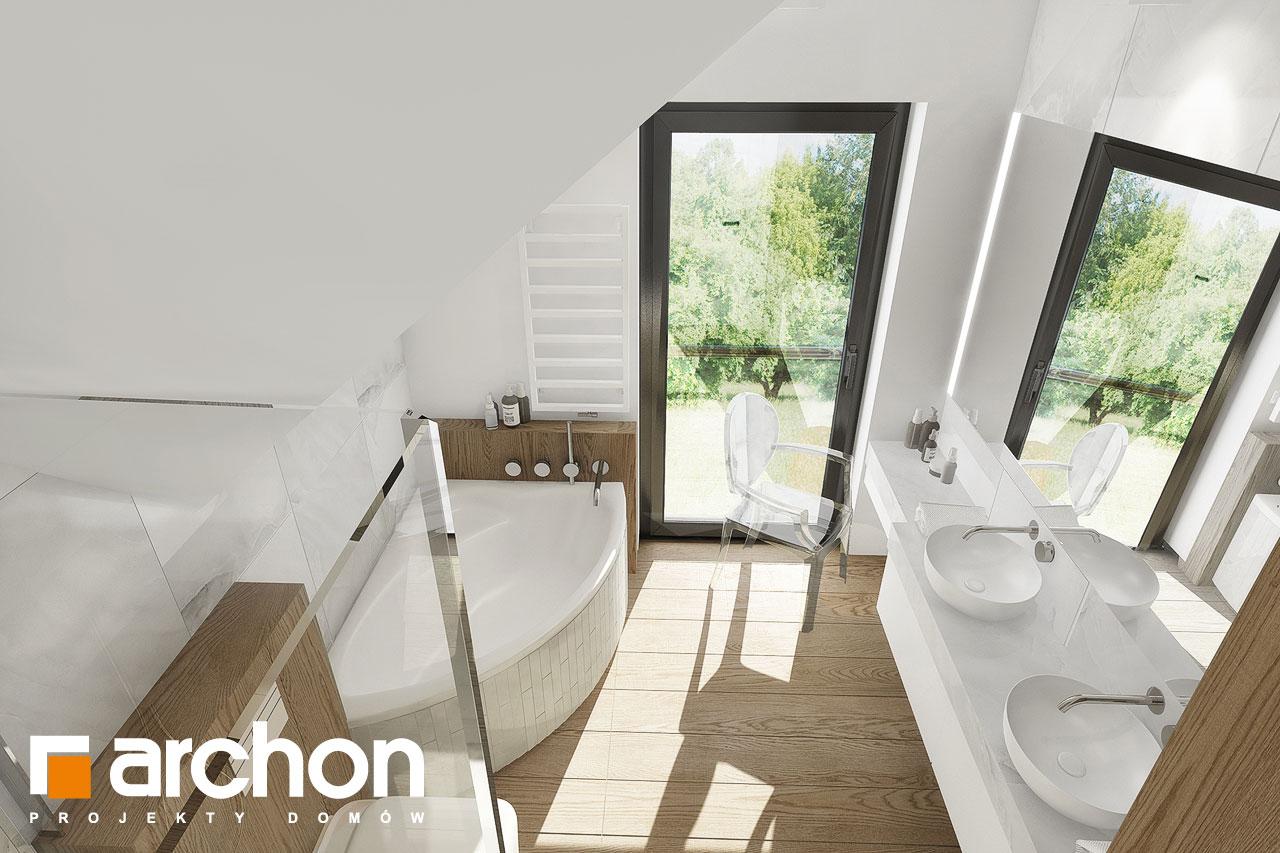 Проект будинку ARCHON+ Будинок в фаворитках візуалізація ванни (візуалізація 3 від 3)