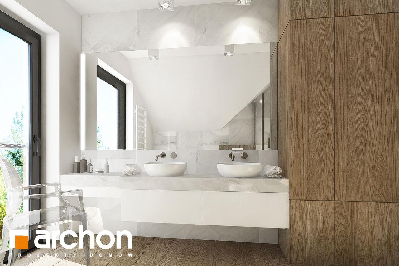 Проект дома ARCHON+ Дом в фаворитках визуализация ванной (визуализация 3 вид 1)