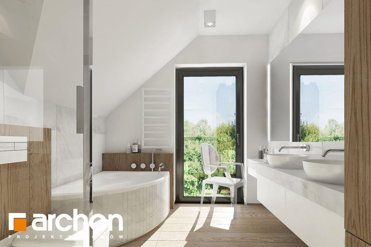 Проект дома ARCHON+ Дом в фаворитках визуализация ванной (визуализация 3 вид 2)