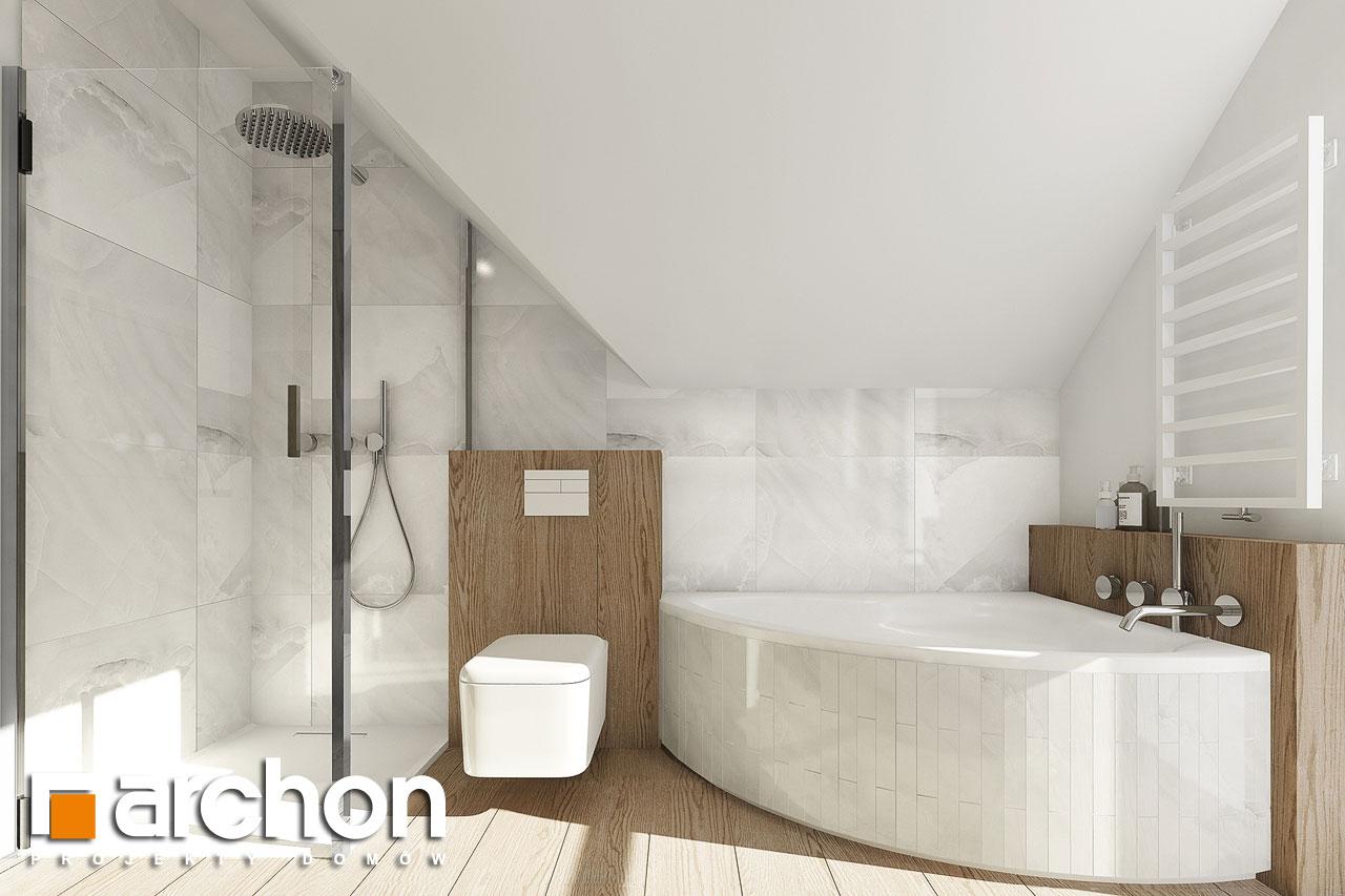 Проект дома ARCHON+ Дом в фаворитках визуализация ванной (визуализация 3 вид 4)