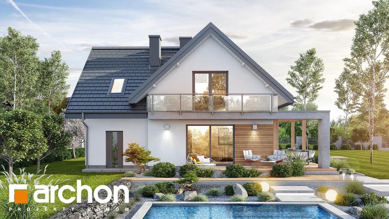 Проект будинку ARCHON+ Будинок в фаворитках Вид 2