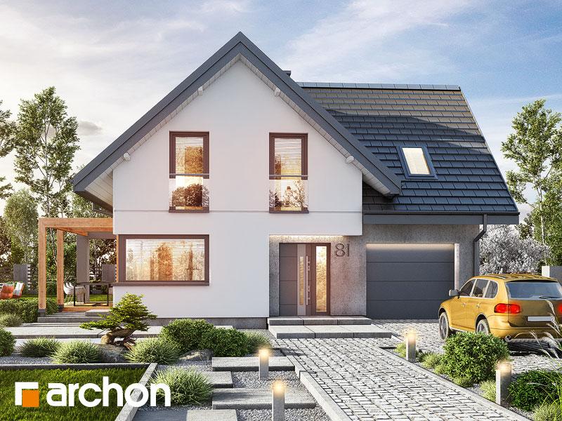 Проект будинку ARCHON+ Будинок в фаворитках Вид 1