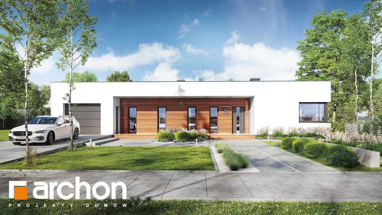 Проект будинку ARCHON+ Будинок в плюмеріях 3 (Г)