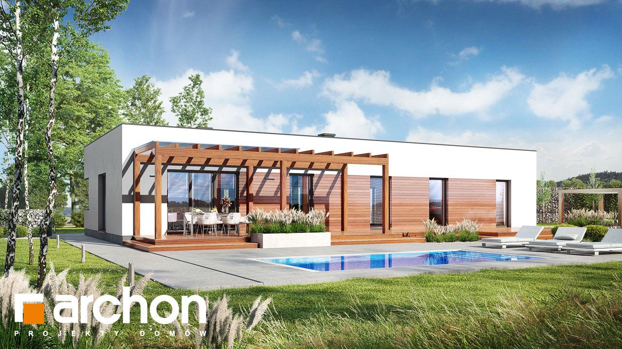 Проект будинку ARCHON+ Будинок в плюмеріях 3 (Г) Вид 2