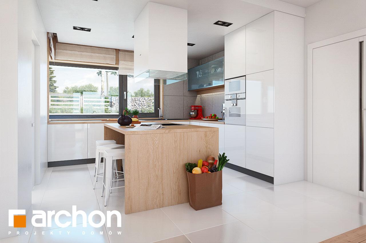 Проект будинку ARCHON+ Будинок в ісменах 2 (Г2) візуалізація кухні 1 від 1