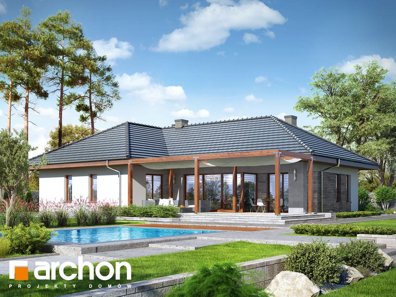 Проект будинку ARCHON+ Будинок в ісменах 2 (Г2) стилізація 4