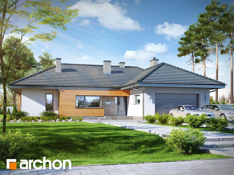 Проект будинку ARCHON+ Будинок в ісменах 2 (Г2) Вид 1