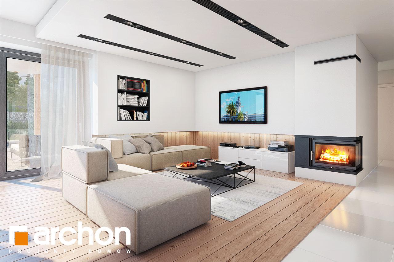 Проект будинку ARCHON+ Будинок в ісменах 2 (Г2) денна зона (візуалізація 1 від 1)